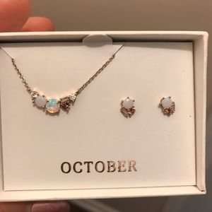 Chloe and Isabel birthstone set
